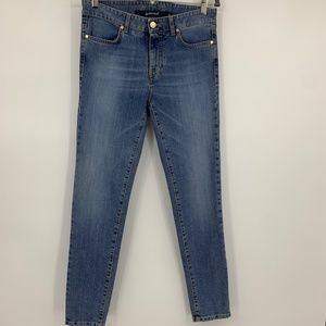 Jeckerson womens 26 jeans high rise skinny